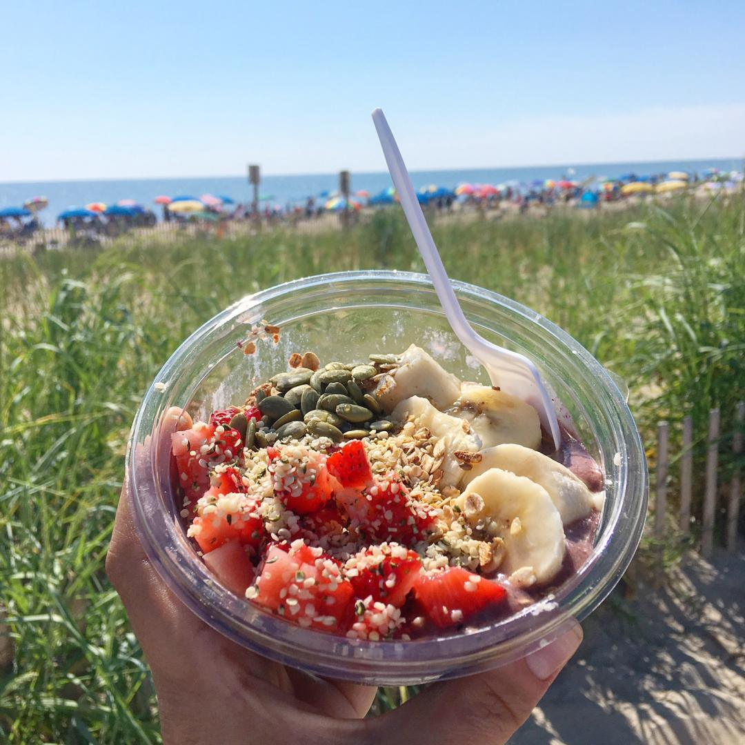 A guide to vegan dining in Rehoboth Beach, Delaware by Vegans, Baby. For more vegan dining guides, visit www.vegansbaby.com/vegansbaby2018