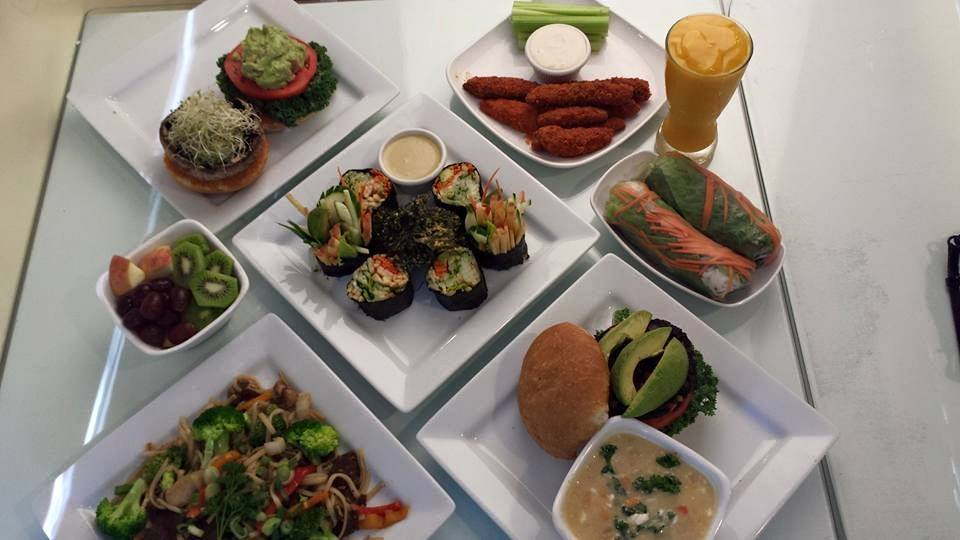 Vegan Restaurants in Tampa Bay - Loving Hut - Dishes
