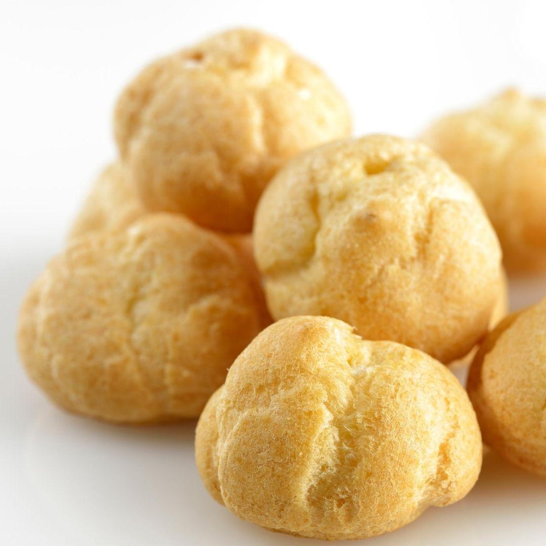 Easy vegan cream puff recipe from acclaimed Las Vegas pastry chef Angela Sweetser. For more vegan recipes, visit www.vegansbaby.com