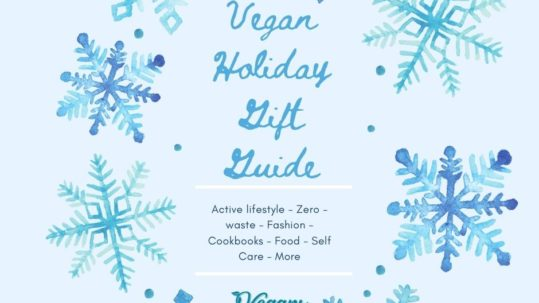 vegan gift guide
